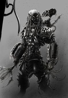 #Predator #Fan #Art.