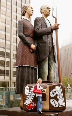 'God Bless America' sculpture due to depart
