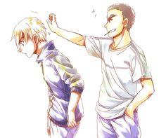 Amuro Tooru & Wataru Date