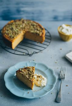 Orange and Almond Cake (no butter)