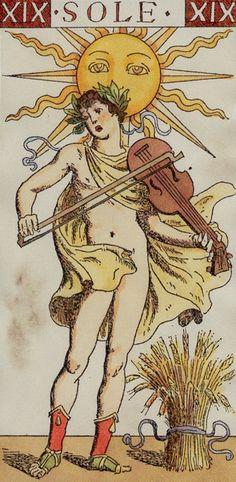 XIX.The Sun: Tarot of the Master