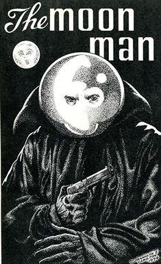 The Moon Man by Frank Hamilton Kenny Scharf, Man On The Moon, Fb Page, Pulp Art, Art Pages, Surrealism, Hamilton, Superhero, Comics