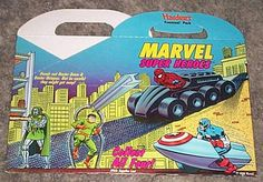 #Vintage 1990's Hardee's #Marvel #Comics Fast Food Fun Meal Box: Spider-m,  View more on the LINK: 	http://www.zeppy.io/product/gb/3/161710003/