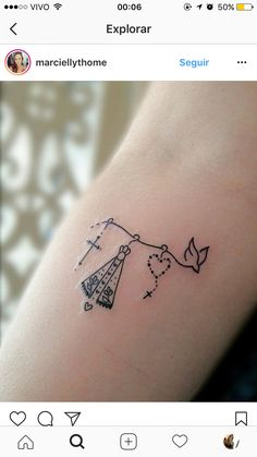 Love this idea would tweak it a bit but it's feminine religious unique all my favorite things ❤️ Mini Tattoos, Dream Tattoos, Love Tattoos, New Tattoos, Body Art Tattoos, Small Tattoos, Tattoos For Women, Cool Wrist Tattoos, Feather Tattoos