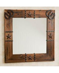 Western Ornament Mirror