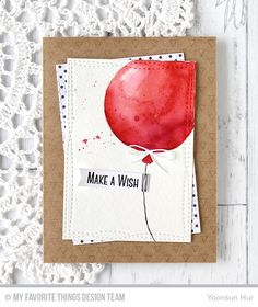 Big Balloons Stencil, Transparent Triangle Background, Celebrate With Cake Stamp Set, Wonky Stitched Rectangle STAX Die-namics, Blueprints 26 Die-namics, Blueprints 29 Die-namics -Yoonsun Hur #mftstamps