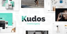 Kudos  A Fresh Theme for Creative Businesses and Individuals //  Powerful Admin Interface Highly Customizable No coding knowledge required One-Click Demo Content Import Select Core Plugin with custom post types Full Screen Select Slider with // #WordPress #themes