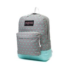 JanSport Superbreak Backpack, Gray Aqua, at Journeys Shoes