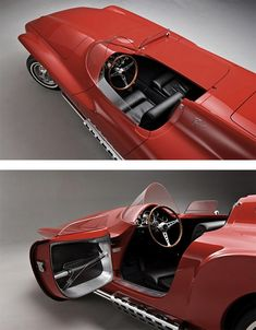 1960 Plymouth XNR Concept Car by Virgil Exner Sr. | Inspiration Grid | Design Inspiration