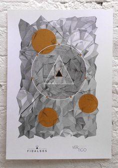 #Risograph print by Chico Jofilsan