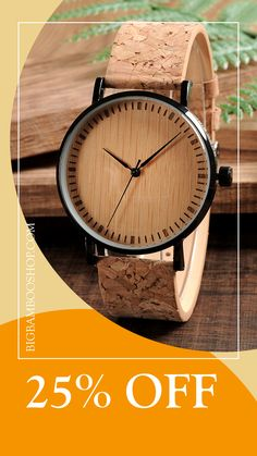 👀 Get your own reliable source of timekeeping - your new eco-friendly wooden watch! Grab yours right now! Wooden Watch, Cool Stuff, Stuff To Buy, Eco Friendly, Bamboo, Clock, Watches, Stylish, Men
