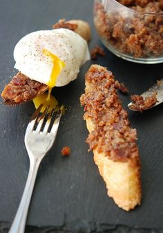 Bacon Jam-Sounds strange, but when I read the recipe it actually sounds amazingly delicious!!!
