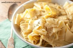 Amish Egg Noodles - our family's favorite side dish and it's SO EASY! Amish Recipes, Gourmet Recipes, Snack Recipes, Cooking Recipes, Healthy Recipes, Dutch Recipes, German Recipes, Oven Recipes, Simple Recipes