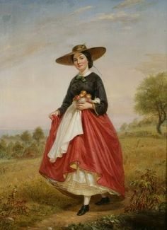 Returning from the Orchard, 1862 | In the Swan's Shadow