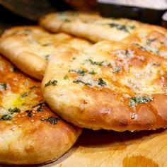 Naanleipä, helppo ja nopea