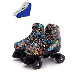 Amazon.com : Roller Derby 1378-02 Youth Boys Firestar Roller Skate, Size 2, Black/Gray : Sports & Outdoors Outdoor Roller Skates, Quad Roller Skates, Roller Derby, Roller Skating, Youth, Sport, Boys, Rolling Skate, Baby Boys