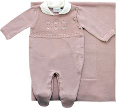 8b32f9c0e7 Saída maternidade trico corações noruega baby