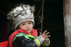 Miao girl in Guizhou