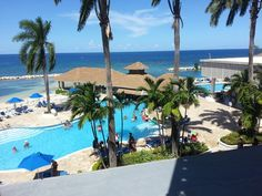 Lobby pool view from Tower