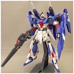 Custom Build: HGBF 1/144 Lightning Gundam Full Burnern - Gundam Kits Collection News and Reviews