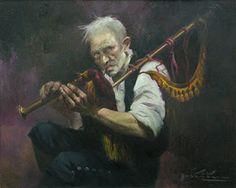 Proxecto Virtual Patrimonio Musical Galego: Cadros de gaiteiros I