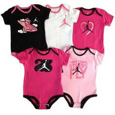 Baby Girl Jordan Clothes Interesting Baby Girl Jordans Shoes  Google Search  Baby Girls Outfitsbottles Design Inspiration