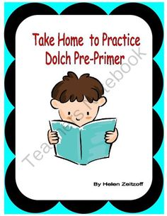Dolch PrePrimer- End of Unit Practice from Essential Reading Skills on TeachersNotebook.com -  (8 pages)  - These practice pages are useful to reinforce Dolch Pre-Primer words at the completion of the list.