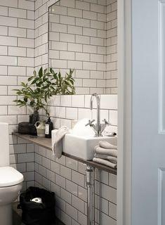 Gäste WC schlicht gestalten