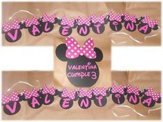banner minnie mouse Minnie Mouse, Banner, Learning, Party, Picture Banner, Fiesta Party, Banners, Receptions, Parties
