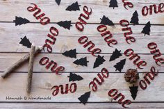 Lumberjack One Confetti Plaid One Confetti by HannahbHandmade