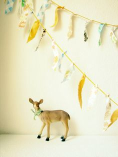 fabric fringe garland