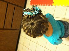 Pretty little girls hair style