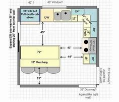 Image Result For 12 X 12 Kitchen Design Layouts