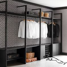 You are in the right place about bedroom storage videos Here we offer you the … - Modern Wardrobe Room, Wardrobe Design Bedroom, Wardrobe Closet, Closet Bedroom, Bedroom Storage, Bedroom Decor, Closet Space, Capsule Wardrobe, Dressing Room Closet