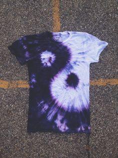 ying yang tie dye