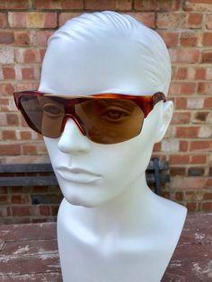 a0b8e76dfd32 ZAGATO vintage brown 80s unique sunglasses shades new old | Etsy Eyewear,  Mens Sunglasses,