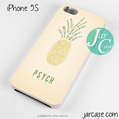 psych pineapple Phone case for iPhone 4/4s/5/5c/5s/6/6 plus