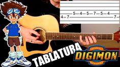 Digimon Adventure: Tablatura Para Guitarra Acústica - Punteo ...