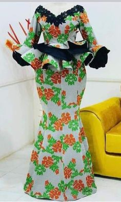 African Dresses For Kids, Latest African Fashion Dresses, African Dresses For Women, African Attire, African Print Dress Designs, Africa Fashion, Style, African Outfits, Block Prints