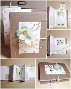 Card Creations by Ellis van Veenendaal: Mein erstes Leporello...