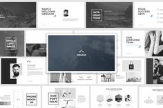 Delica Keynote Presentation by kylyman on Envato Elements Powerpoint Themes, Powerpoint Template Free, Keynote Template, Presentation Backgrounds, Business Powerpoint Presentation, Success Message, Google, Slide Design, Banner Template