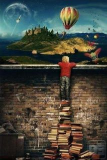Open your mind, read books