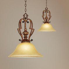 Belcaro Collection Mini Pendant Chandelier - over sink/island task lighting