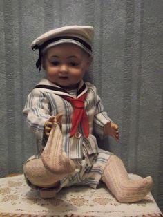 poupée ancienne MORIMURA BROS antique doll