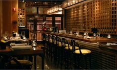 "Making the Conde Nast Travelers ""Hot List"", Tinto is a cozy and intimate restaurant reminiscent of a wine cellar that can accommodate up to 100 guests."