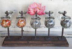 Try to DIY with mason jars (Antique Farmhouse)