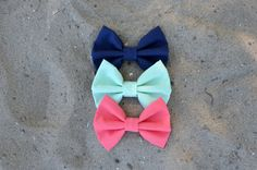 Beach House Bows by Sophster-Toaster Mint Coral, Spring Summer 2015, Toaster, Beach House, Bows, Navy, Accessories, Beach Homes, Arches