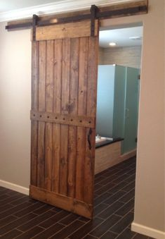 Best interior barn doors ideas on knock the door designs is one of images from sliding barn door design. This image's resolution is pixels. Find more sliding barn door design images like this one in this gallery Home Design, Home Interior Design, Design Ideas, French Interior, Scandinavian Interior, Barn Homes For Sale, Barn Bathroom, Master Bathroom, Bathroom Doors