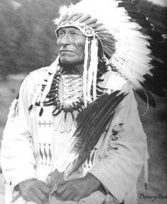Dewey Beard, Lakota, survivor of Wounded Knee.