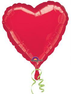 Red Foil Heart Balloon, £1.50